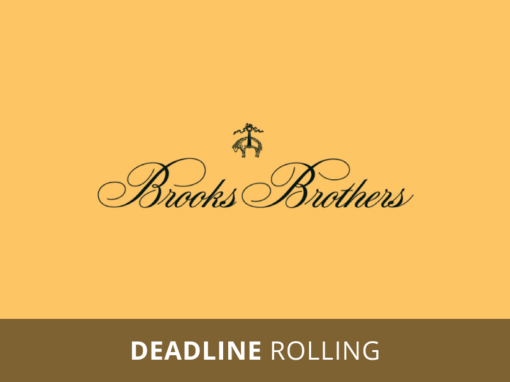 Brooks Brothers Donation Requests