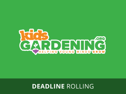 Youth Garden Grant Program
