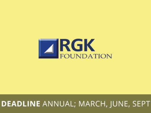 RGK Foundation