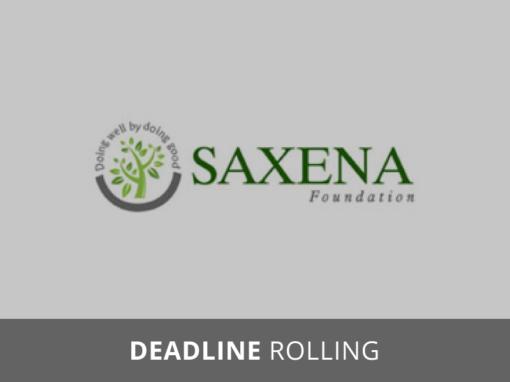 Saxena Family Foundation Grants