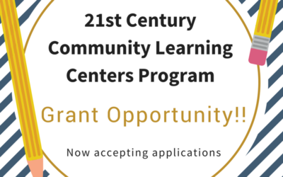 21st Century Community Learning Centers Grant Announcement