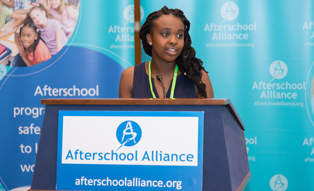 Afterschool for All Challenge Speaks to Officials in D.C.