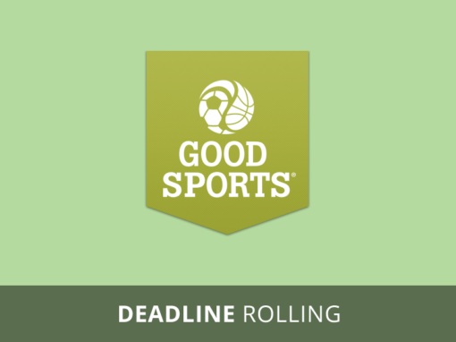 Good Sports Equipment Grant