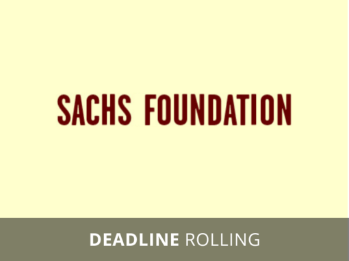 Enrich and Hannah Sachs Foundation