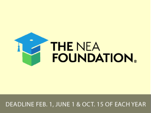 National Education Association Foundation Learning and Leadership Grants